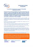 La santé des entrepreneurs au coeur de l'Assemblée Générale de l'AIST 84 28.05.18