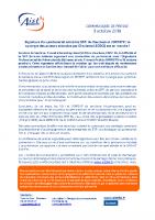 Signature d'un partenariat entre les SSTI du Vaucluse et l'OPPBTP la synergie des acteurs attendue par Charlotte LECOCQ est en marche 03.10.18