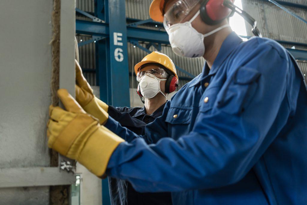 masque anti odeur chimique