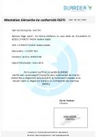 ATTESTATION GUARDEA RGPD AIST 84 au 02 07 2019
