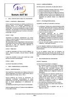 Statuts AIST 84 2019